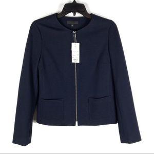 Uniqlo Navy Blue Zip Up Jacket
